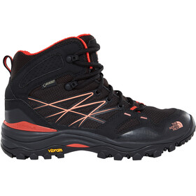 The North Face Hedgehog Fastpack Mid GTX - Chaussures Femme - rouge/noir